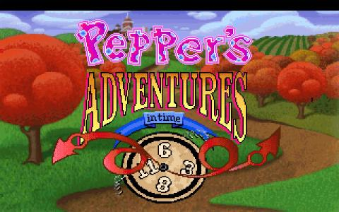 Pepper's Adventures in Time - game cover