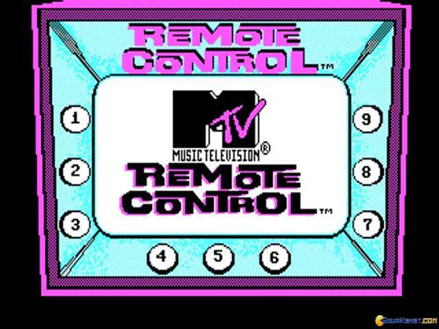 MTV's Remote Control - title cover
