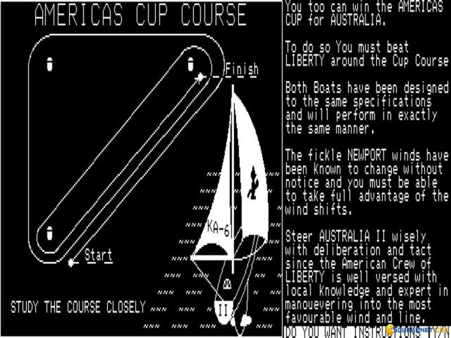 Yacht Racing Simulator - title cover