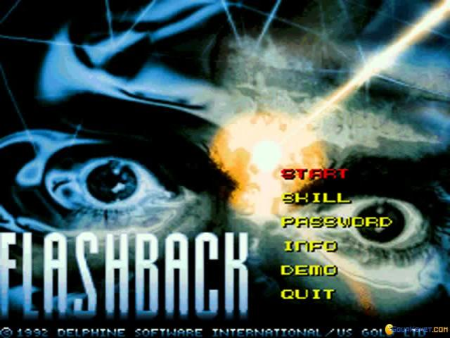 Flashback - game cover