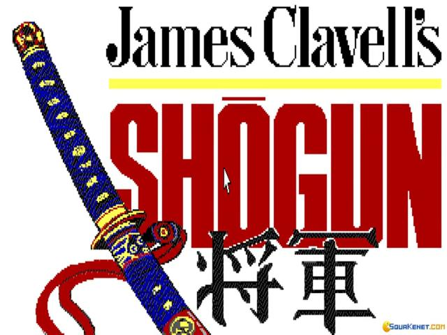 James Clavell's Shogun - title cover