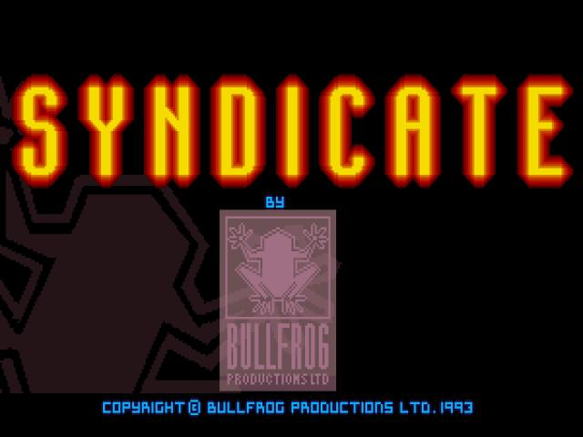 Syndicate - title cover