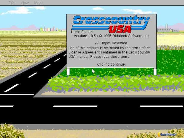 Cross Country USA - title cover
