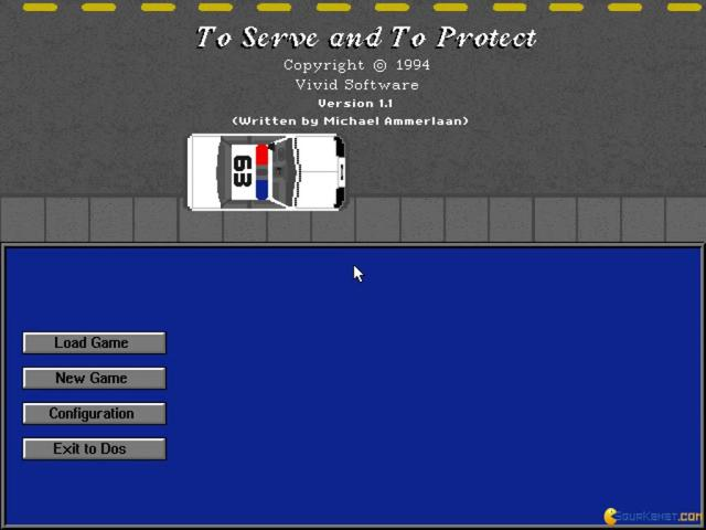 To Serve and To Protect - title cover