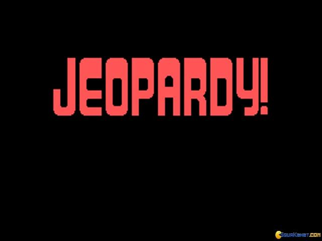 Jeopardy! Junior Edition - game cover