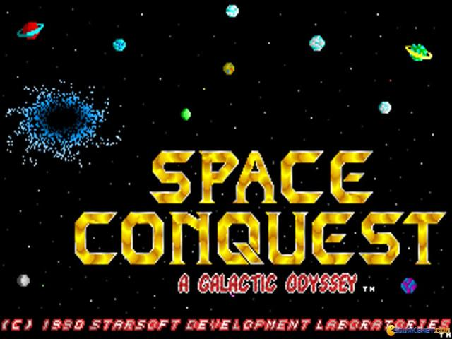 Space Conquest - title cover