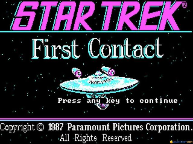Star Trek: First Contact - game cover