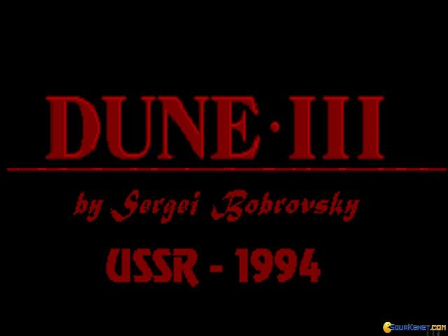 Dune 3 - title cover