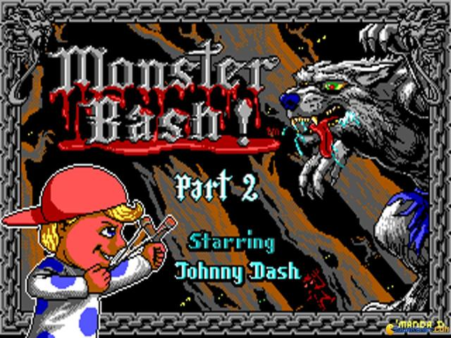 Monster Bash 2 - title cover