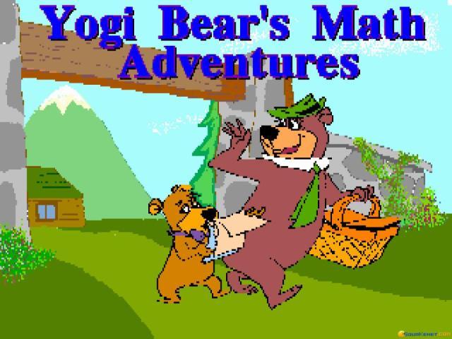 Yogi Bear's Math Adventure - title cover