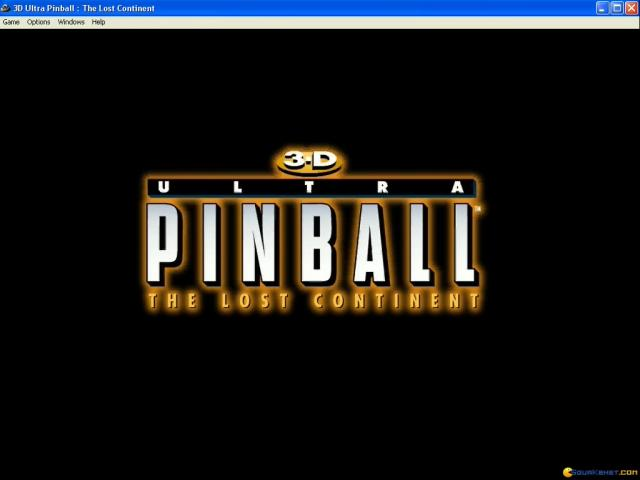 3-D Ultra Pinball: The Lost Continent - game cover