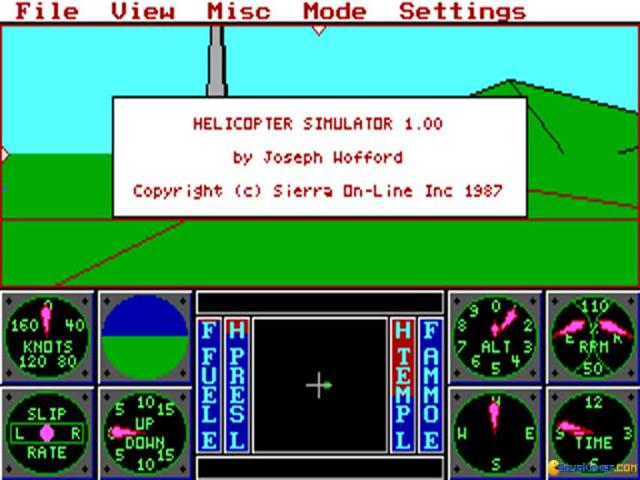 Helicopter Simulator - title cover