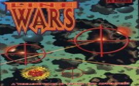 Line Wars - title cover