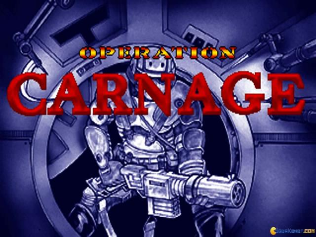 Operation Carnage - title cover