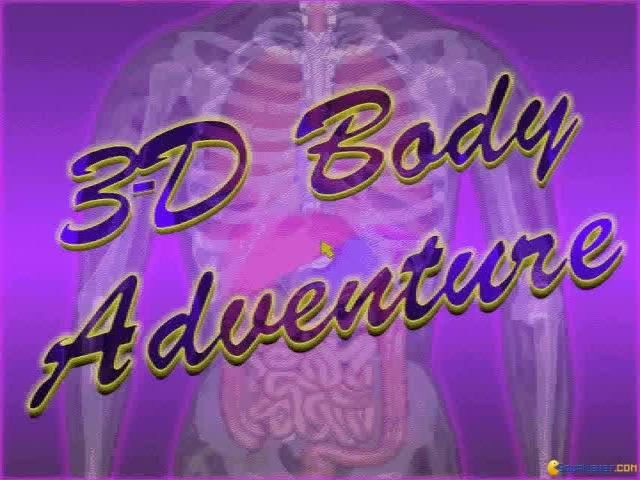 3D Body Adventure - title cover