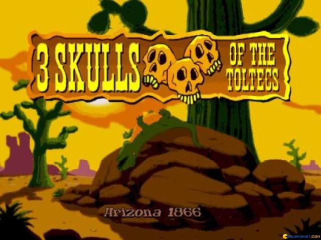 3 Skulls of the Toltecs - title cover