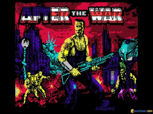After the War - game cover