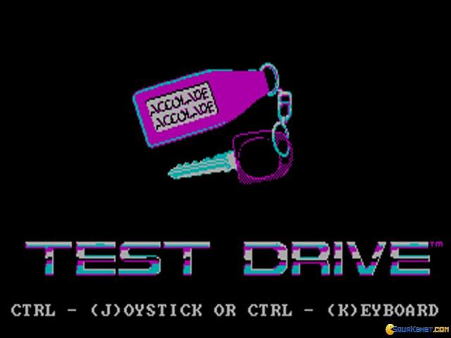Test Drive - title cover