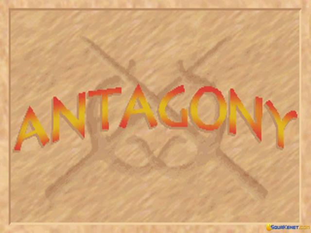 Antagony - title cover