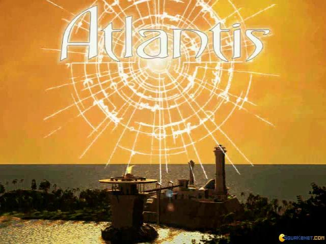 Atlantis: The Lost Tales - title cover
