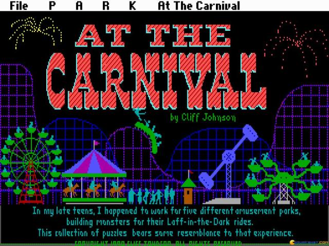 At the Carnival - title cover