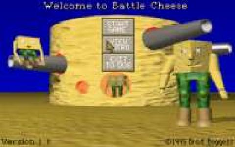 Battle Cheese - title cover