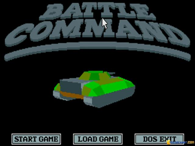 Battle Command - game cover