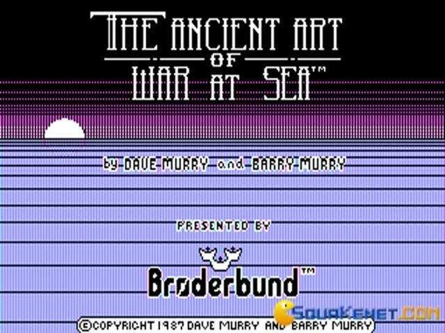 Ancient Art of War at Sea - title cover