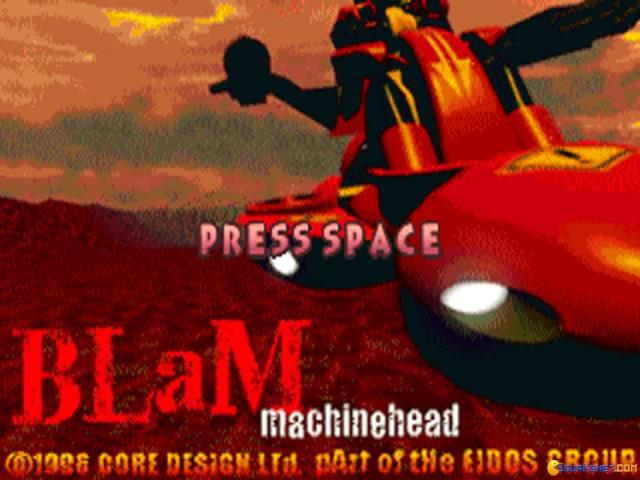 Blam! Machinehead - title cover