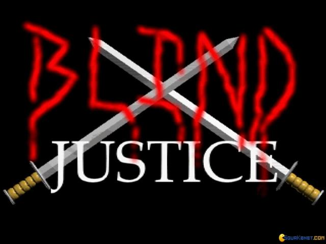 Blind Justice - title cover