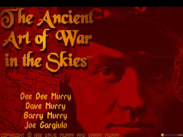 Ancient Art of War in the Skies - title cover