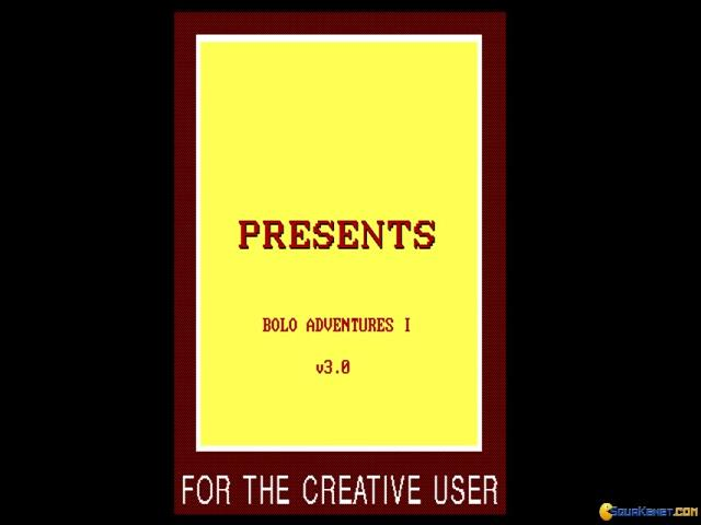 Bolo Adventures I - title cover