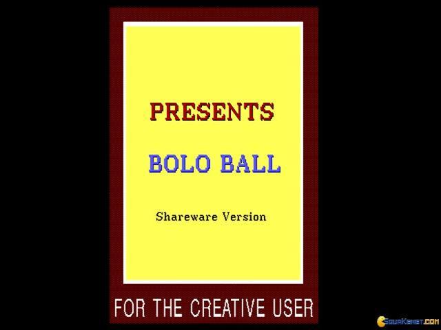 Bolo Ball - title cover