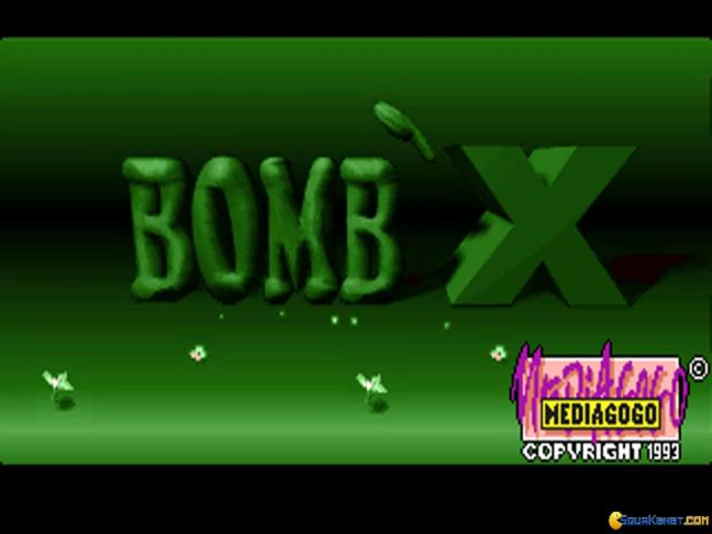 Bomb'X - title cover