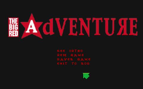 The Big Red Adventure - title cover