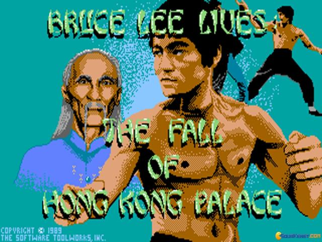Bruce Lee Lives: The fall of Hong Kong Palace - title cover