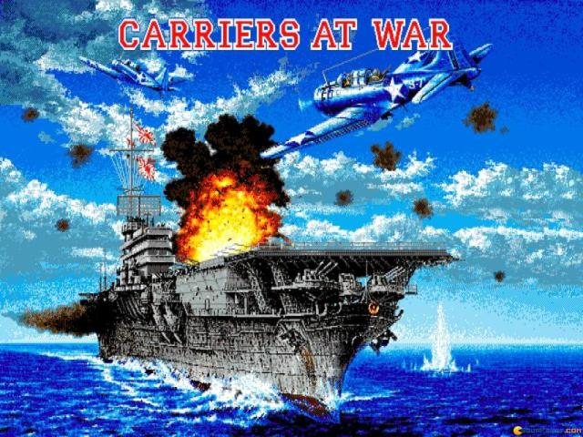 Carriers at War - title cover