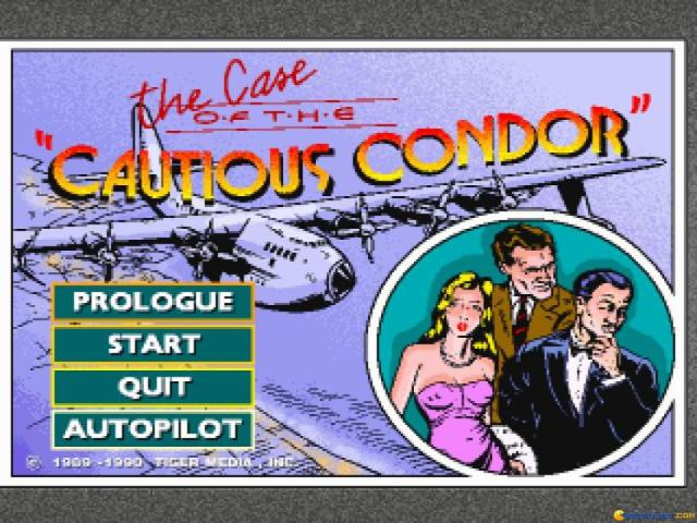 The Case of the Cautious Condor - game cover