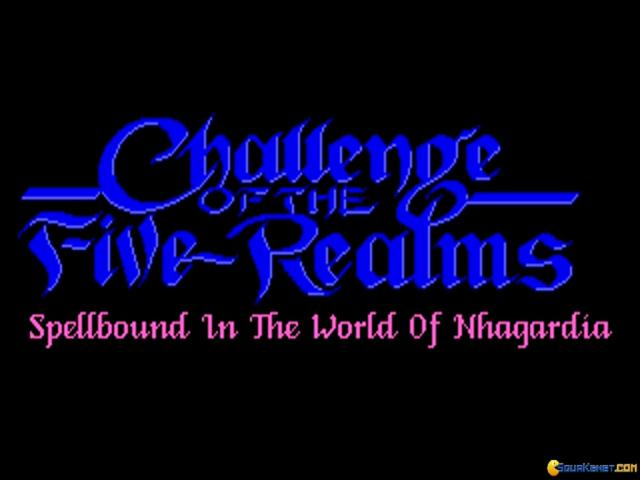 Challenge of the Five Realms - title cover