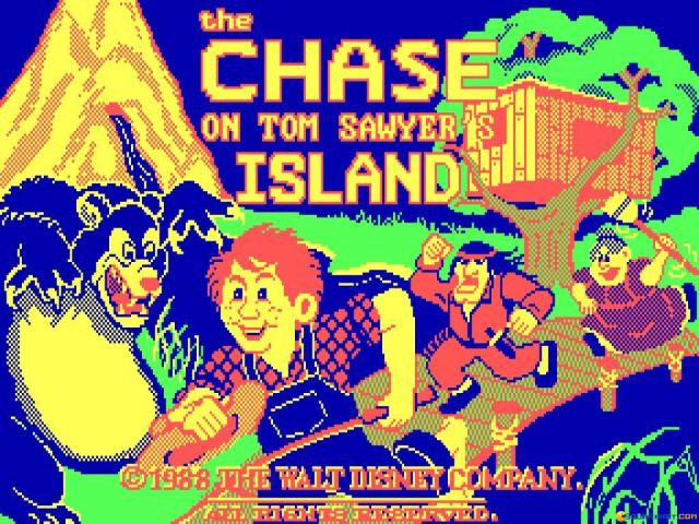 The Chase on Tom Sawyer's Island - game cover