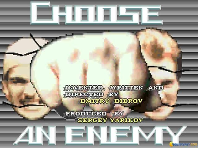 Choose an Enemy - title cover