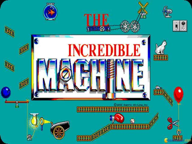 The Incredible Machine - game cover