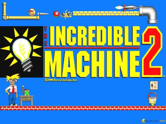 The Incredible Machine 2 - title cover