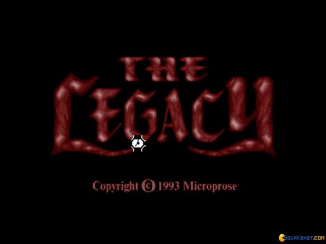 The Legacy - title cover