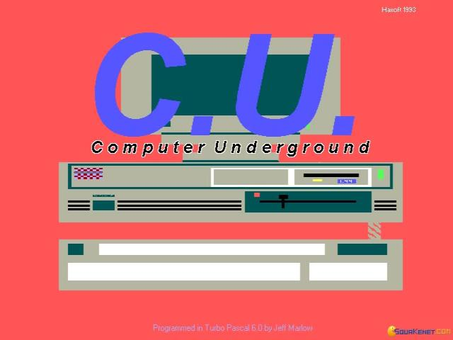 Computer Underground - title cover