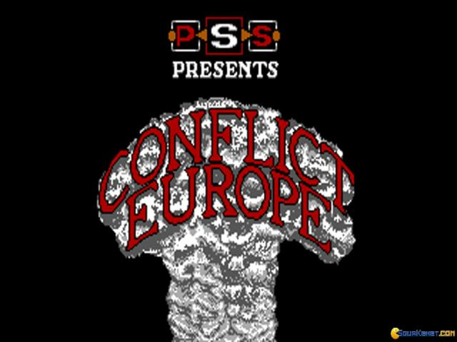 Conflict: Europe - title cover