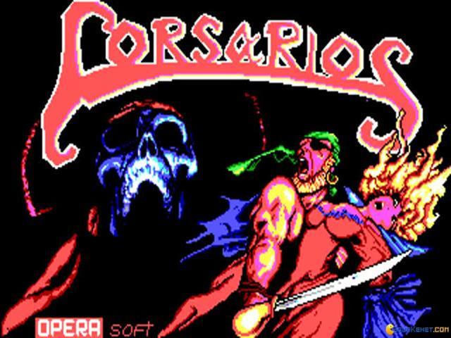 Corsarios - title cover