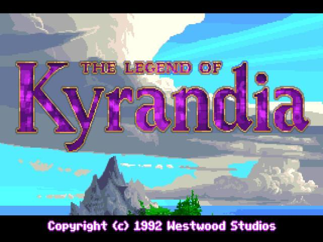 The Legend of Kyrandia: book 1 - title cover