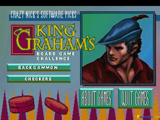 Crazy Nick's Picks: King Graham's Board Game Challenge - title cover