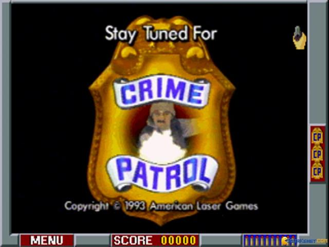 Crime Patrol - game cover
